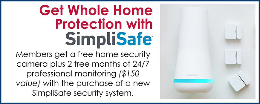 Get Whole Home Protection With SimpliSafe