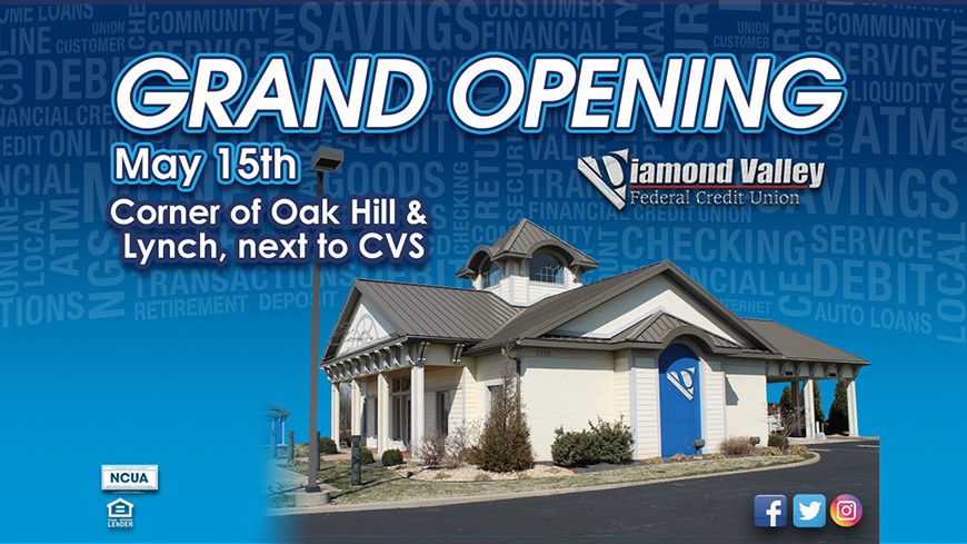 Grand Opening - 3150 Lynch Road - May 15th