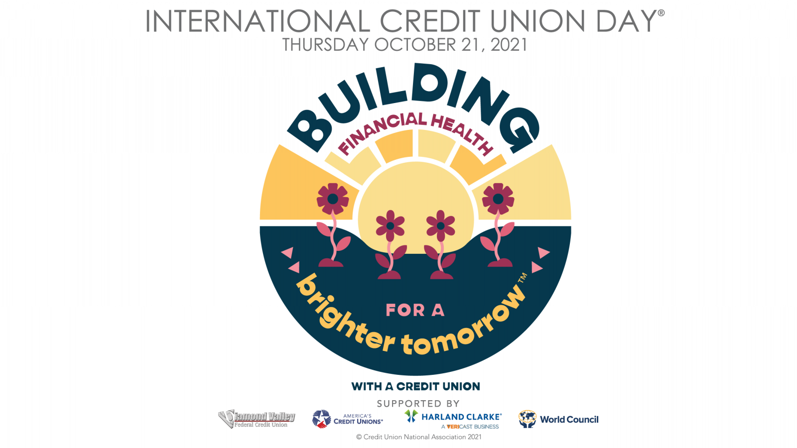 Celebrate 73 years of International Credit Union Day® at Diamond Valley Federal Credit Union