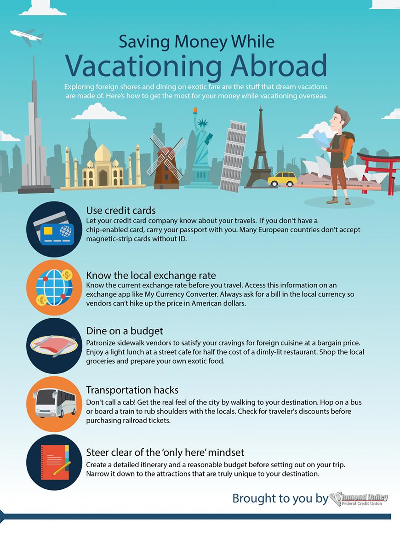Saving Money While Vacationing Abroad