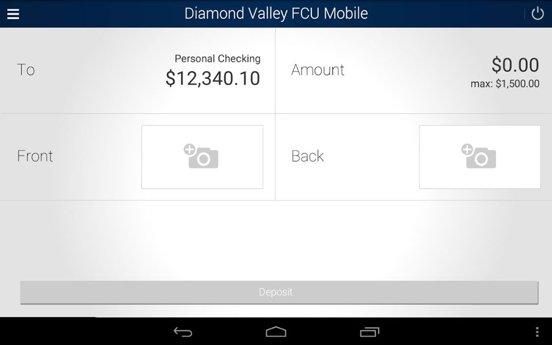DVFCU App for Android