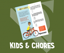Kids and Chores - Youth Credit Union Month - Activity Sheet