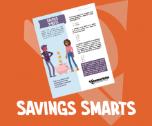 Savings Smarts - Youth Credit Union Month - Activity Sheet