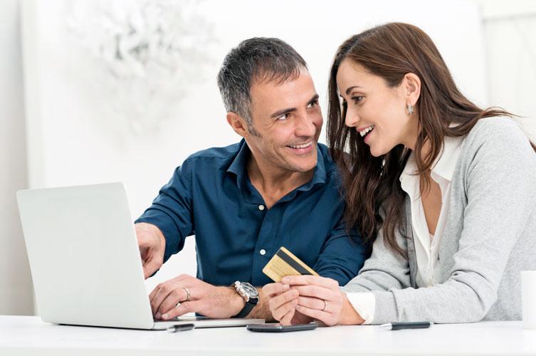 Locally Managed VISA Credit Cards